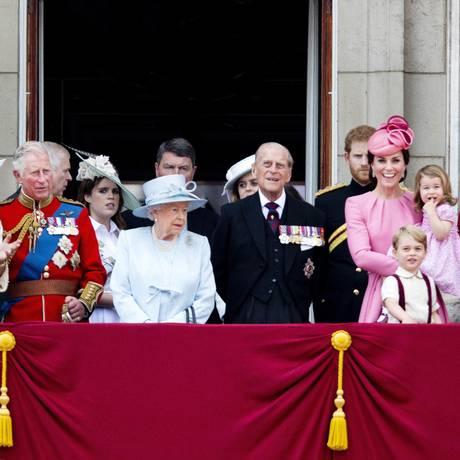 Meghan Markle se junta à família real britânica em 19 de maio Foto: PPE / Agência O Globo