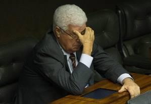 O deputado Nelson Meurer (PP/PR) 14/04/2015 Foto: André Coelho / Agência O GLOBO