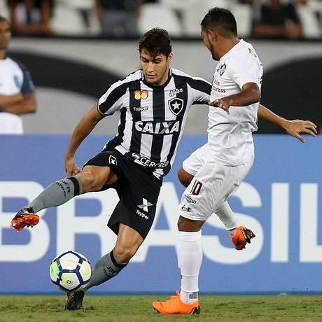 Contra o Flu, foram dois passes para gol de Marcinho Foto: VITOR SILVA/SSPRESS / /BOTAFOGO