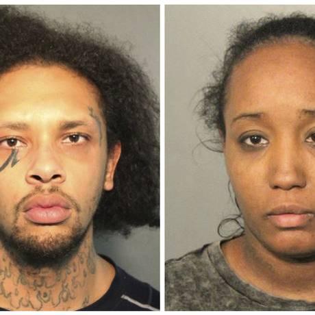 Jonathan Allen e a mulher, Ina Rodgers, abusaram física e emocionalmente dos filhos Foto: Solano County Sheriff's Office / AP