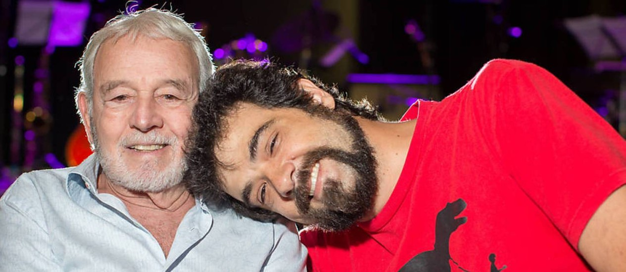 Carlos e Cláudio Lyra Foto: Divulgação