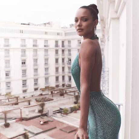 Lais Ribeiro em Cannes Foto: Timur Emek