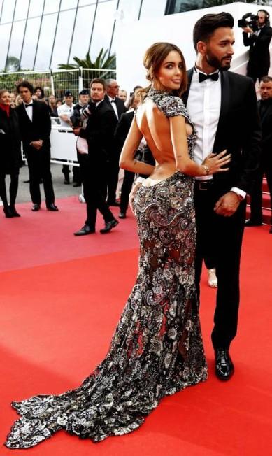 O casal Nabilla Benattia e Thomas Vergara ERIC GAILLARD / REUTERS