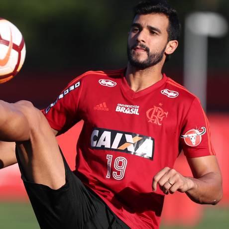 Henrique Dourado tem nove gols no ano, atrás apenas de Vinícius Júnior no Flamengo Foto: Gilvan de Souza/Flamengo