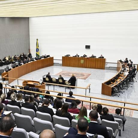 Sessão da Corte Especial do STJ em 02/08/2017 Foto: Sergio Amaral / STJ/Reprodução