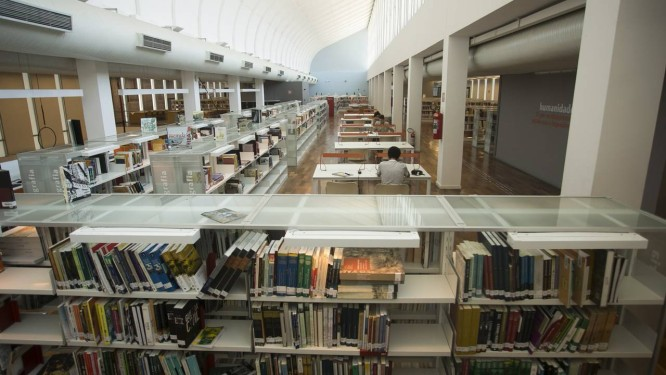 Reabertura da Biblioteca Parque do Centro, fechada desde dezembro de 2016, custará 4 R$ milhões anuais Foto: Gabriel de Paiva / Agência O Globo