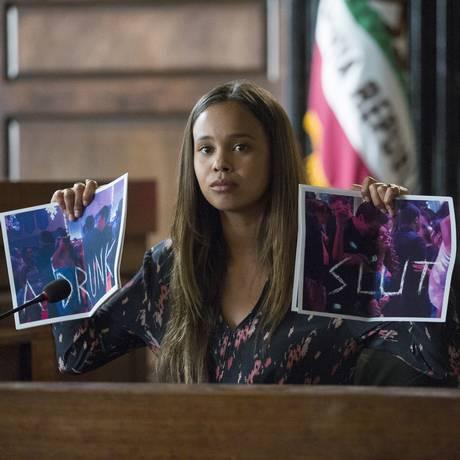 A atriz Alisha Boe, que faz o papel de Jessica Foto: Beth Dubber/Netflix / Divulgação