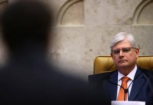 O ex-procurador-geral da República Rodrigo Janot Foto: Jorge William / Agência O Globo