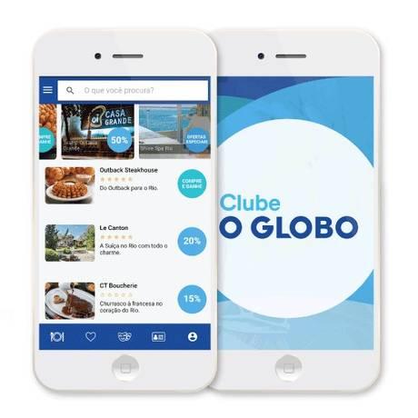 Clube O GLOBO, renovado, dá ao assinante até 50% de desconto em mais de 400 estabelecimentos Foto: Agência O Globo