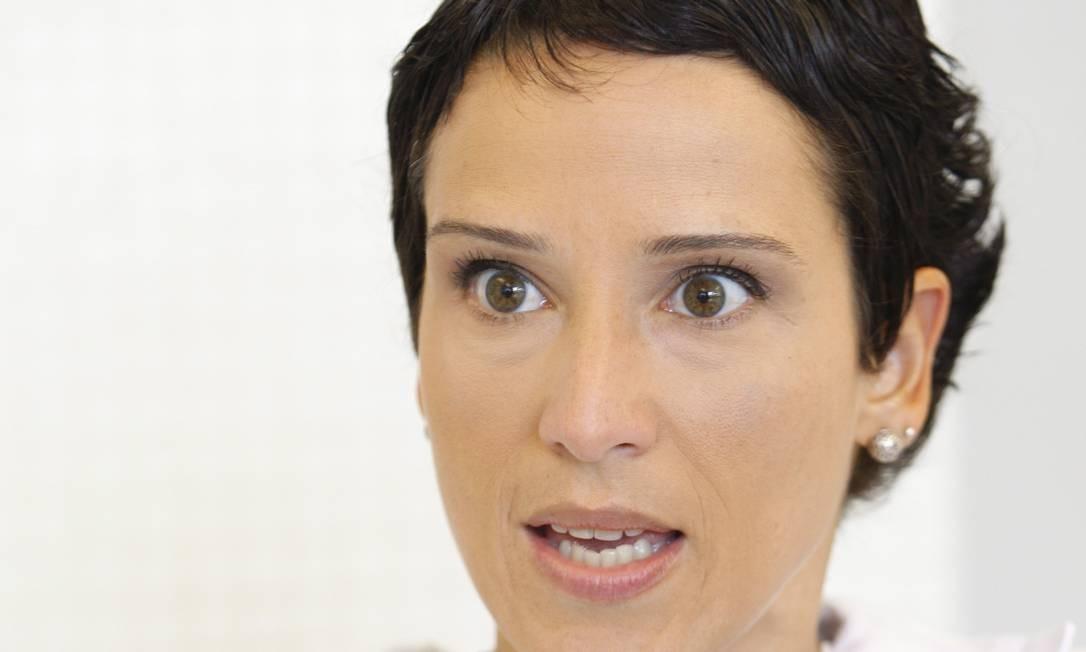 A economista Monica de Bolle, da Universidade John Hopkins Foto: Simone Marinho / Simone Marinho