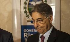 O governador de Minas Gerais, Fernando Pimentel. Foto: Hermes de Paula / Agência O Globo