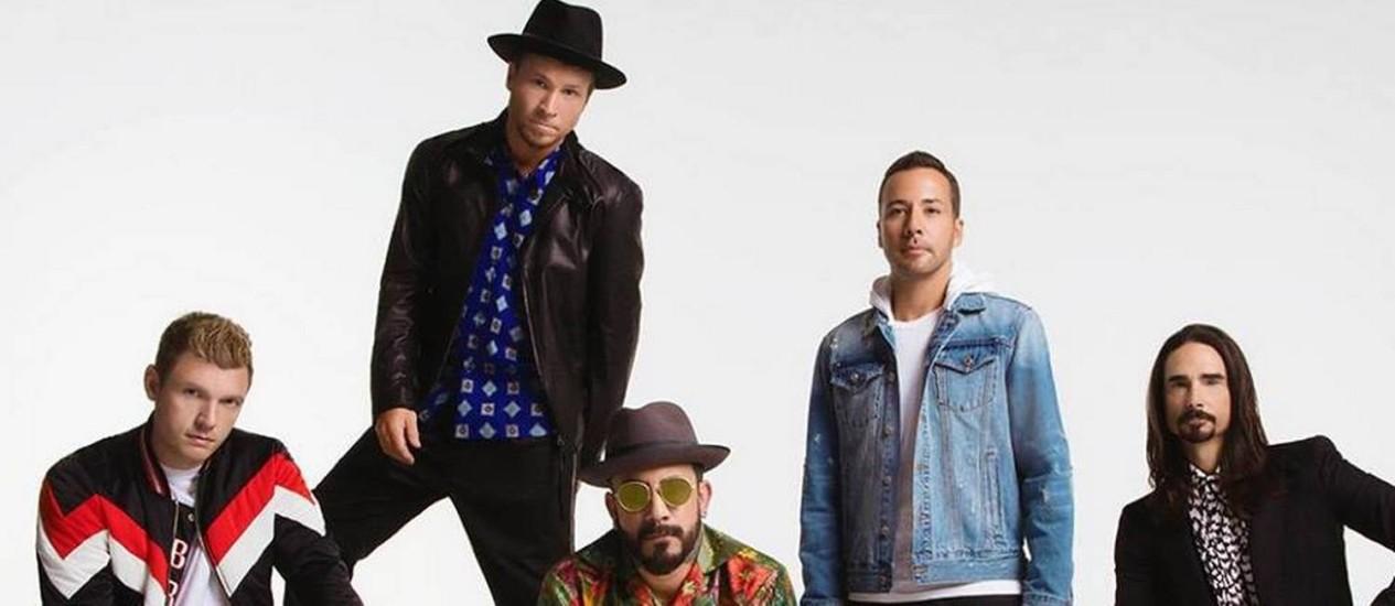 Após cinco anos, os Backstreet Boys lançam nova música Foto: Reprodução do Facebook
