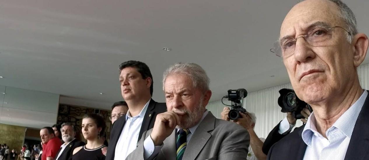 """Cena do documentário """"O processo"""", de Maria Augusta Ramos, sobre o impeachment da Dilma Foto: Divulgação / Divulgação"""