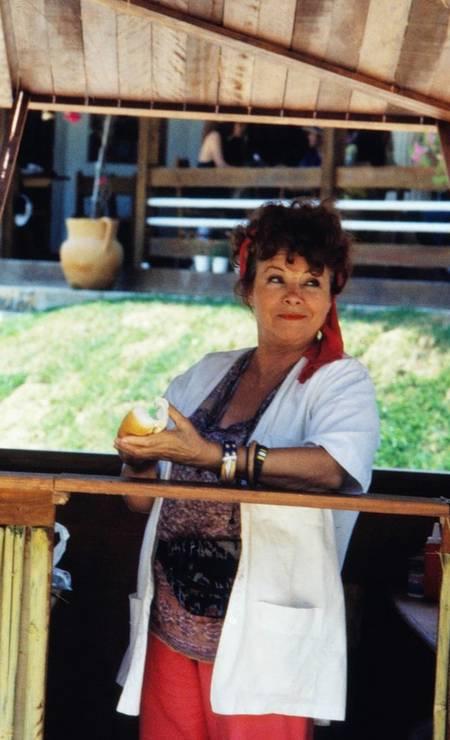 Eloísa Mafalda na novela 'Mulheres de areia' (1993) Foto: Bazilio Calazans / TV Globo