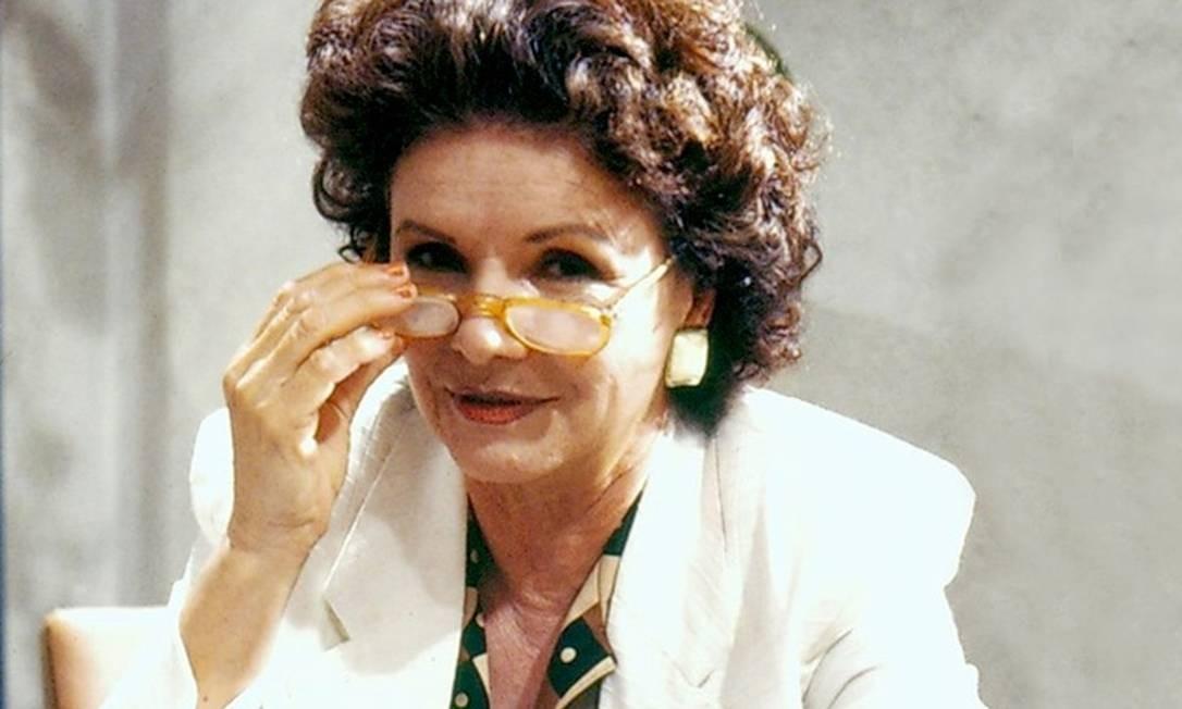 Eloísa Mafalda em 'Delegacia de Mulheres' (1990) Foto: Reprodução/Memória Globo