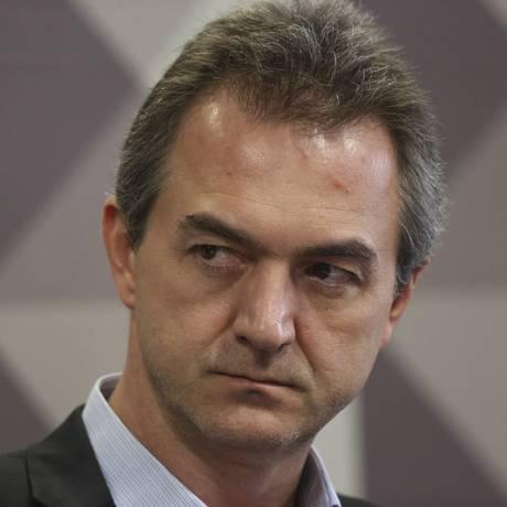 Joesley Batista em sessão no Senado Federal Foto: Ailton de Freitas / Agência O Globo