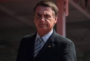 O deputado Jair Bolsonaro Foto: Nelson Almeida / AFP