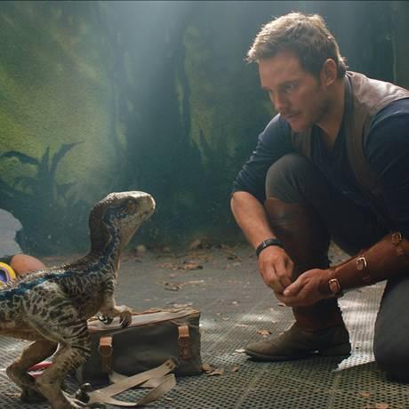Jurassic World: Reino Ameaçado Foto: Divulgação