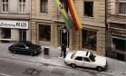 'O BANCO DO BRASIL E SUA HISTÓRIA': Ag. Frankfurt (Alemanha) - Fachada. 1975 Foto: Divulgação