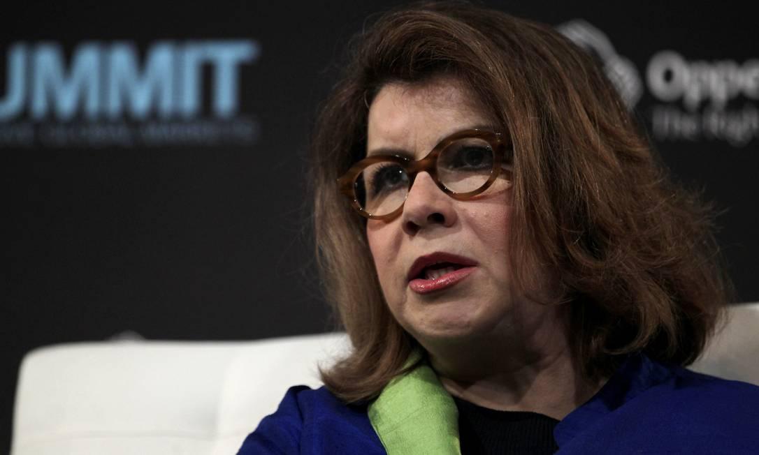 A economista de Harvard Carmen Reinhart Foto: Jin Lee / Bloomberg News