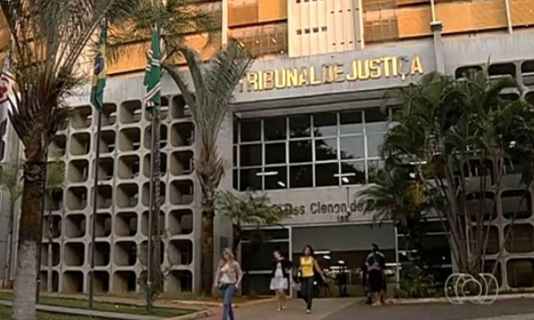 Tribunal de Justiça de Goiás Foto: Reprodução TV