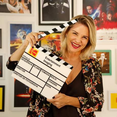 Renata Boldrini em seu estúdio no Downtown: novos meios para atender às demandas dos fãs Foto: Brenno Carvalho