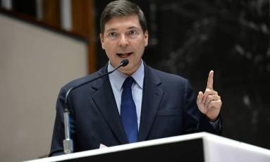 Josué Alencar, filho do ex-vice-presidente José Alencar, é cortejado por vários partidos Foto: Guilherme Dardanhan / Divulgação ALMG