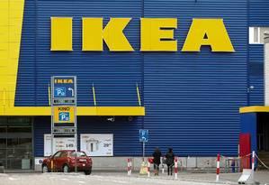 Azul e amarela. Loja da Ikea na Suíça. Foto: Arnd Wiegmann/11-10-2016/Reuters Foto: Arnd Wiegmann / REUTERS