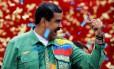 O atual presidente Maduro lidera as pesquisas eleitorais Foto: Carlos Jasso / REUTERS