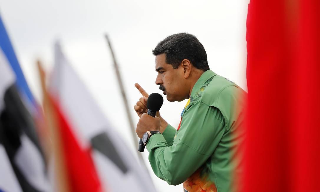 Nicolás Maduro, conhecido por 'Stalin do Caribe', não nega a semelhança com o ditador Foto: Carlos Jasso / REUTERS