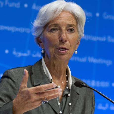 Christine Lagarde reuniu conselho do FMI para discutir crise Argentina Foto: Jose Luis Magana/ AP / AP