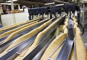 Uma das duas fábricas da Piraquê fica no bairro de Madureira: curso para auxiliares de produção Foto: Divulgação