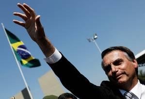 O pré-candidato do PSL à Presidência, Jair Bolsonaro Foto: Nacho Doce / REUTERS 03/05/2018