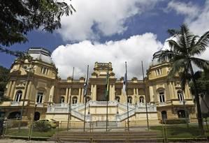 Palácio Guanabara, a sede do governo do Rio Foto: Gabriel de Paiva / Agência O Globo