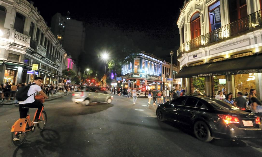Área da 5ª DP, na região central do Rio, teve o índice de roubos de carro quase quintuplicado Foto: Agência O Globo