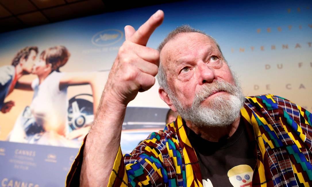 Cannes: Terry Gilliam comenta mudanças no roteiro de 'Dom Quixote'