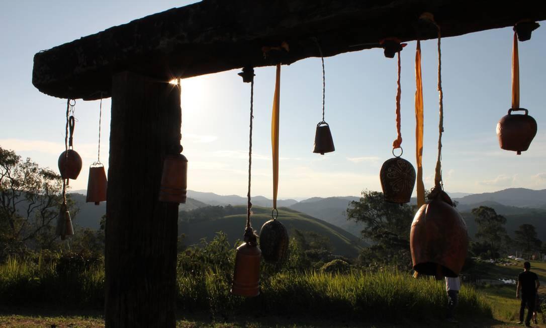 O Bosque dos Sinos é uma das atrações do Uana Etê Foto: Ana Beatriz Marin / Agência O Globo