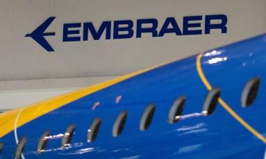 Empresa brasileira Embraer Foto: Roosevelt Cassio / REUTERS