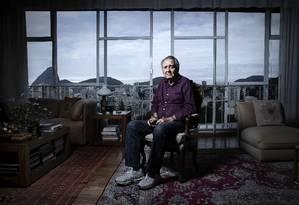 O cordel do Barretão: o produtor faz 90 anos Foto: Leo Aversa / Leo Aversa