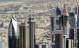 Vista aérea da cidade de Dubai, nos Emirados Árabes Unidos Foto: Ana Branco / Agência O Globo