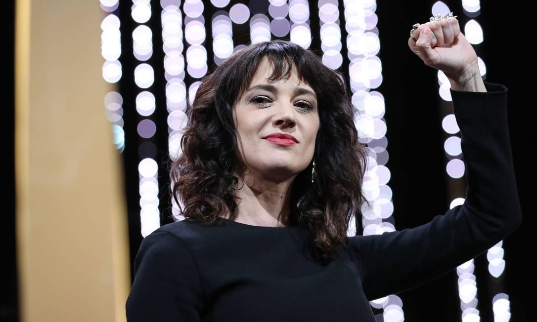 A atriz italiana Asia Argento Foto: VALERY HACHE / AFP