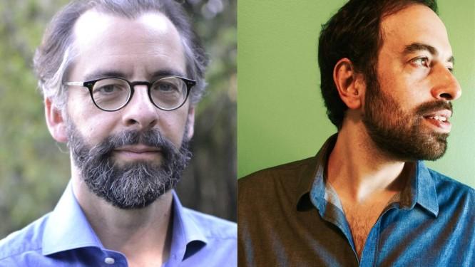 Mauricio Lyrio (à esquerda) e Jacques Fux: ficções sobre o