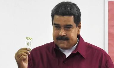 Presidente venezuelano, Nicolás Maduro Foto: JUAN BARRETO / AFP