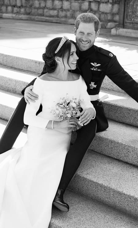O casal real Harry e Meghan Foto: Alexi Lubomirski / AP