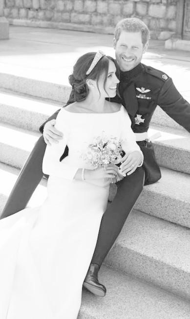 O casal real Harry e Meghan Alexi Lubomirski / AP