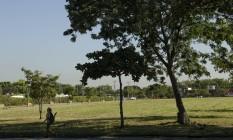 Campus da UFRJ na Ilha do Fundão tem segurança questionada após série de crimes Foto: Gabriel de Paiva / Agência O Globo