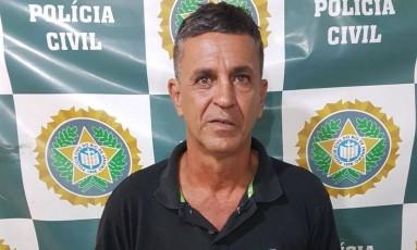 Mauro de Oliveira Siqueira foi preso em flagrante após violentar estudante Foto: Divulgação/Polícia Civil
