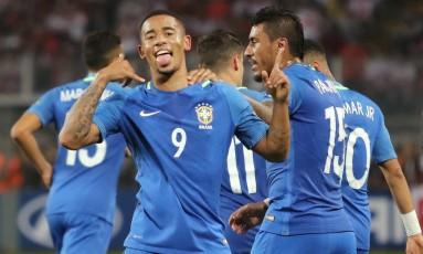 Gabriel Jesus é aposta de gols da seleção na Copa do Mundo Foto: Guadalupe Pardo / REUTERS