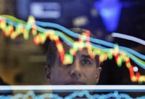 Plataforma Tesouro Direto foi suspensa pelo terceiro dia útil consecutivo Foto: Richard Drew / AP