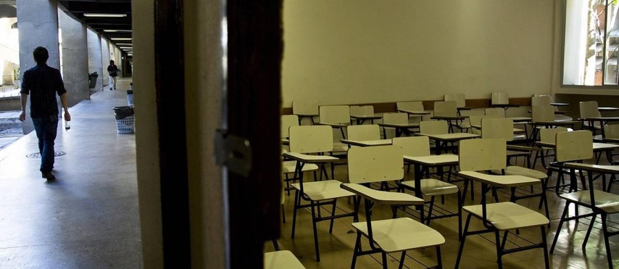 Modalidade de ensino à distância vem crescendo nos últimos anos Foto: Paula Giolito / Agência O Globo